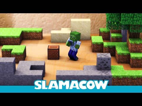 Minecraft Leaking into the Real World - Minecraft Animation - Slamacow