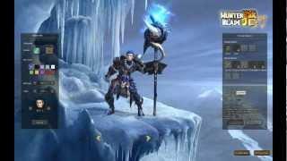 Hunter Blade Создание Персонажа и базовое обучение