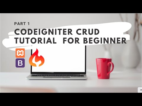 Create a Codeigniter CRUD with Grocery CRUD Installation by