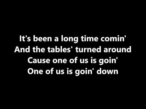 You're Going Down - Sick Puppies Lyrics 1080p