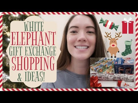 Funny White Elephant Gift Exchange Idea! VLOGMAS Day 8 & 9