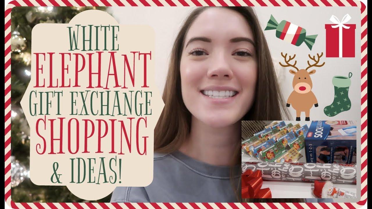 Christmas Gift Exchange Themes.Funny White Elephant Gift Exchange Idea Vlogmas Day 8 9