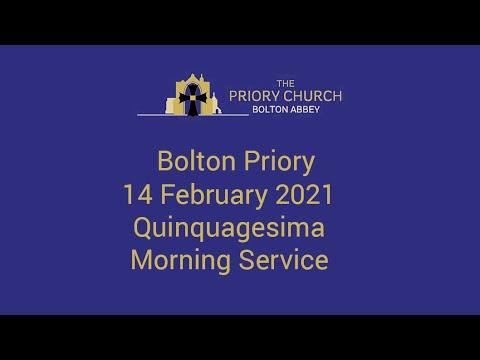 Bolton Priory 14 February 2021 Morning Service