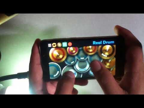 Real drum Nidji di Atas Awan drum cover (real drum app)