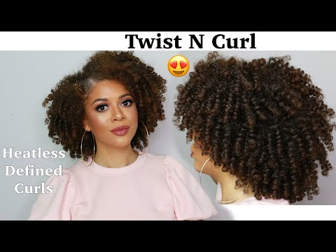 how-to-twist-and-curl-natural-hair-|-heatless-curls