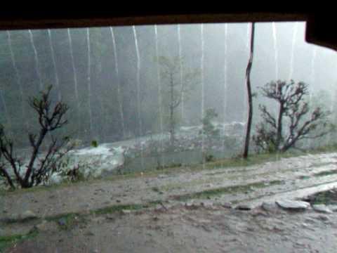 Heavy rain in Himalaya