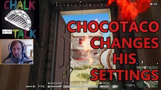ChocoTaco Changes His Settings (PlayerUnknown's Battlegrounds)