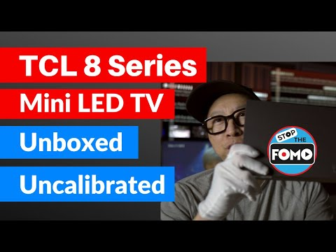 TCL 8 Series TV Review, Unboxing & Early Impressions vs OLED & QLED TV
