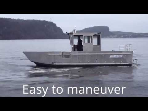 ALUTEC BOATS LC 790 WORK Aluminium landing craft / boat / boot / båt / vene