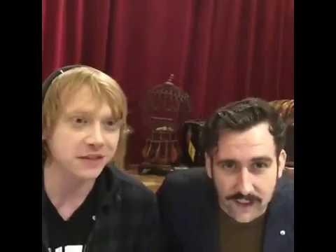"Rupert Grint & Matthew Lewis ( ""A Celebration of Harry Potter"" 2016 )"