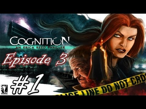 Cognition Episode 3: The Oracle Gameplay Walkthrough Part 1 - Not Easy To Go Away