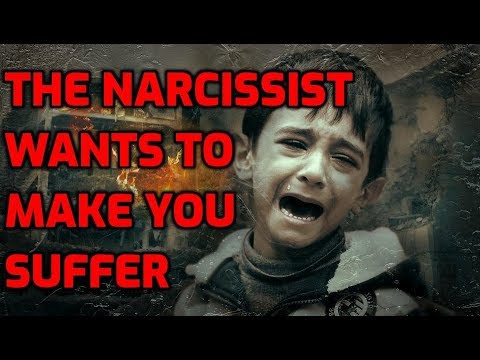 The Narcissist Wants To Make You Suffer