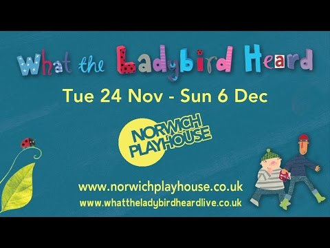 What the Ladybird Heard - farmyard fun at Norwich Playhouse in Nov-Dec 2015