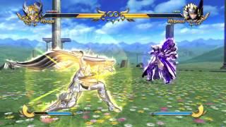 Hyoga God Cloth vs Hypnos - Saint Seiya Soldier