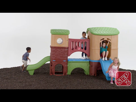 Climb, slide and crawl with the Clubhouse Climber™