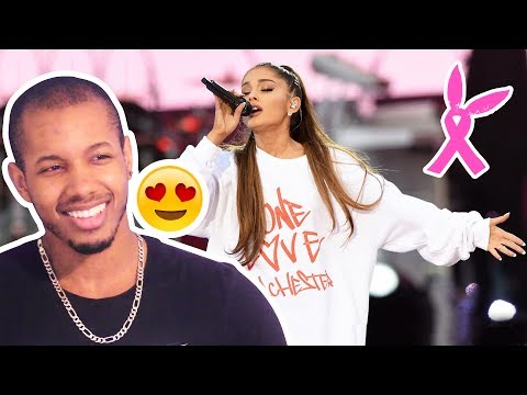 ARIANA GRANDE - SOMEWHERE OVER THE RAINBOW - ONE LOVE MANCHESTER  REACTION