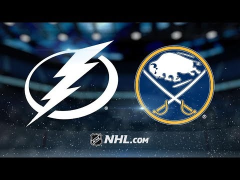 Tampa Bay Lightning vs Buffalo Sabres | Jan.12, 2019 | Game Highlights | NHL 2018/19 | Обзор Матча