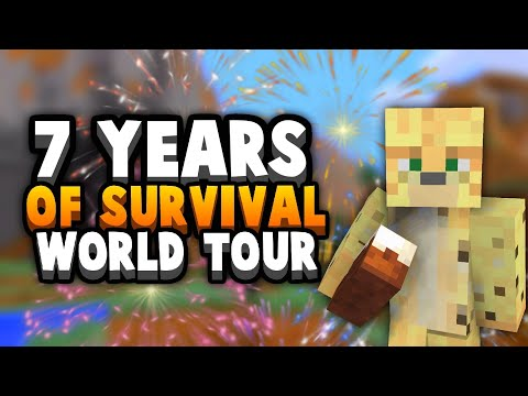 This Is What I Made In 7 Years Of Minecraft Survival
