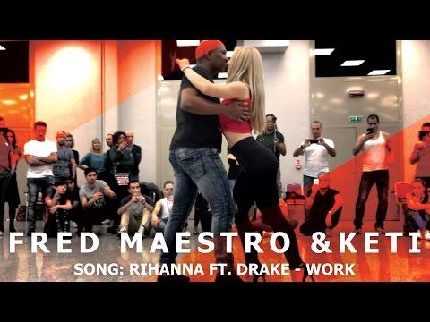 Fred Maestro & Keti  Urban Kiz Dance @ KIZMI 2016 | Rihanna x Drake - Work