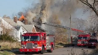 Detroit Fires Nov 16-18 2012 With Audio