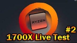 1080p Ryzen Test Stream | R7 1700X | H1Z1 Gameplay