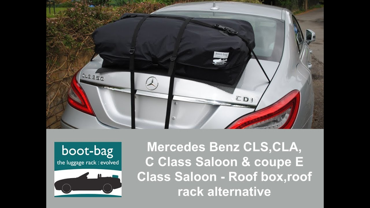 High Quality Mercedes Benz CLS,CLA, C Class Saloon, E Class Saloon   Roof Box,roof Rack  Alternative   YouTube