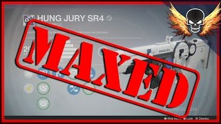 Hung Jury SR4 Maxed! Omolon Dead Orbit Legendary Scout Rifle