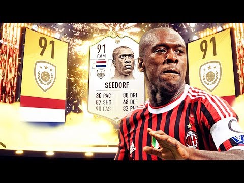 HOW GOOD IS PRIME SEEDORF IN FIFA 19 ULTIMATE TEAM? ** ICON PLAYER REVIEWS **