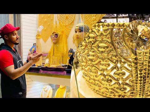 DUBAI- THE CITY OF GOLD : Guide and Tour to Dubai's Gold Souk Market | DEIRA #dubai #gold #india