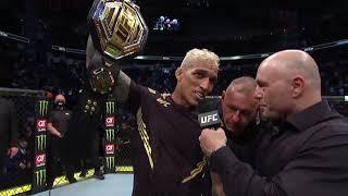 UFC 262: Оливейра vs Чендлер - Слова после боя