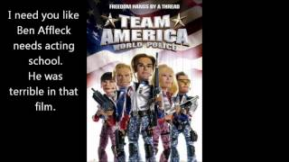 Team America - Pearl Harbor Sucked