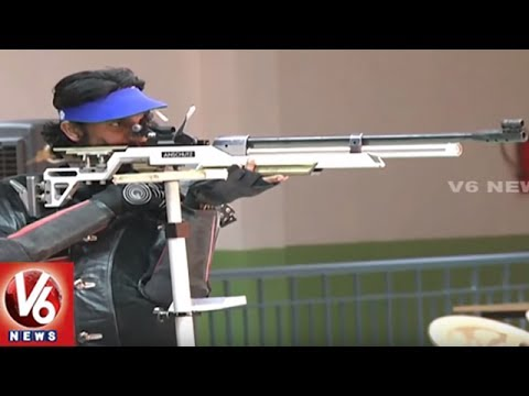 Rifle Shooting | Students Showing Interest On Expensive Sport | Hyderabad | V6 News