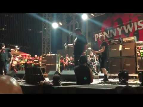 Punk Rock Bowling Las Vegas 2017 Pennywise w Hetson and Fat Mike playing a Bad Religion song 5/29/17