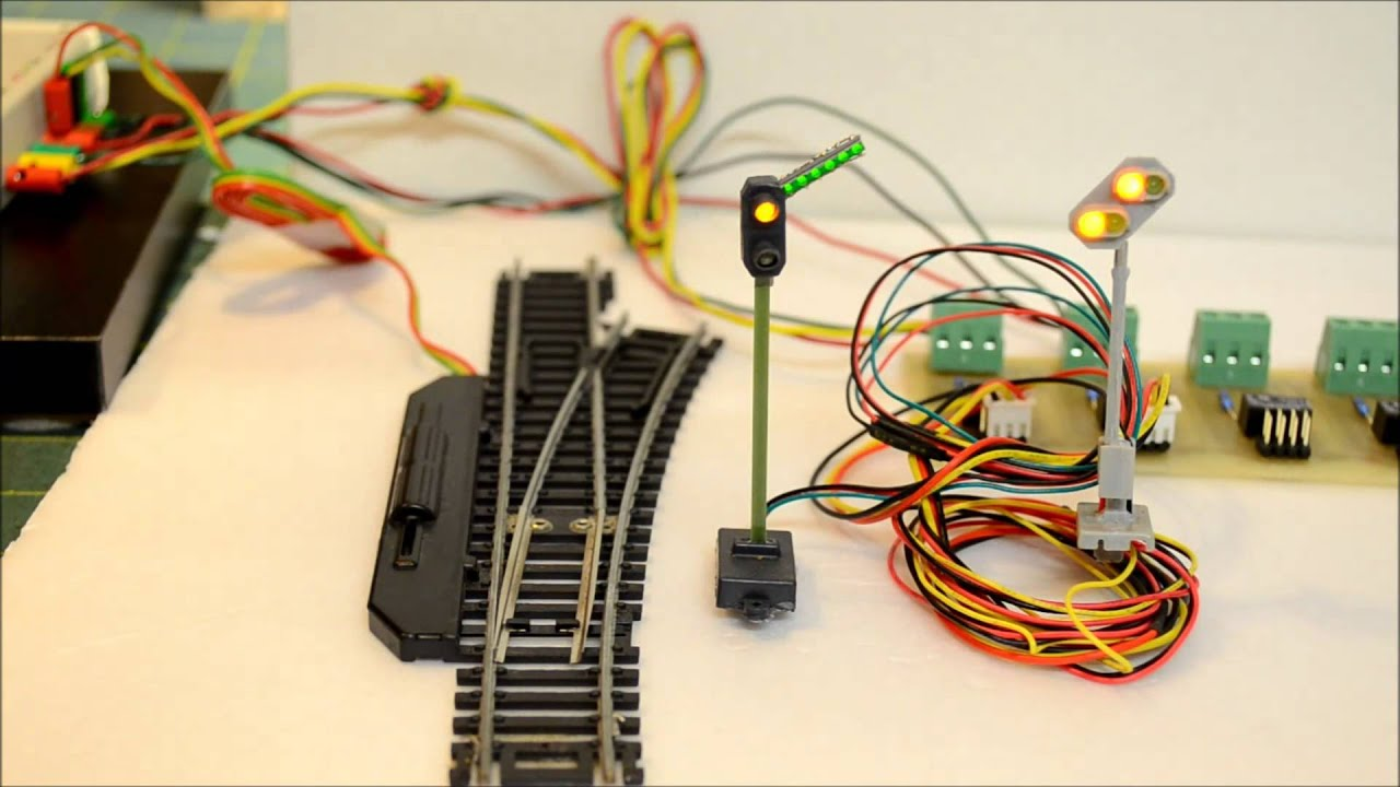 Dcc Wiring Turnouts Guide Turnout And Signal Operation For Decoder Youtube Rh Com Ho Trains