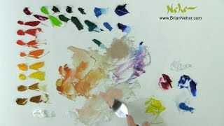 Mixing Color: Painting with a Limited Palette