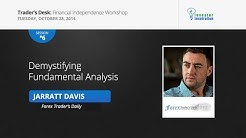 Demystifying Fundamental Analysis   Jarratt Davis