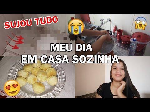 IMPREVISTOS ACONTECEM 😭 / MEU DIA SOZINHA EM CASA   - Tati Pereira thumbnail