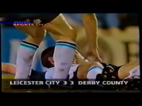 1993-94 Leicester City 3 Derby County 3 - 05/04/1994