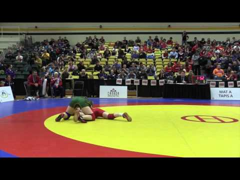 2015 CIS Championships: 51 kg Final Hayley Thomas vs. Emily Schaefer