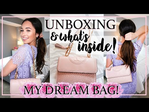 HANDBAG UNBOXING AND WHAT'S IN MY BAG?! | Alexandra Beuter