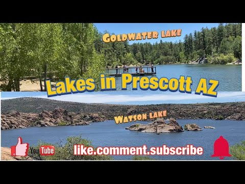 Lakes In Prescott Arizona - Watson Lake And Goldwater Lake