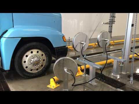 Automated Drive Thru Truck Wash |  Wheel Wash | Hydro-Chem Systems