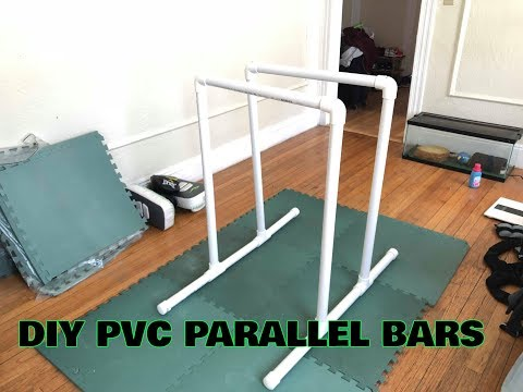 DIY PVC Parallel Bars