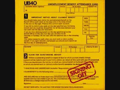 UB40 - Food For Thought ( Signing Off Album ) Track 8