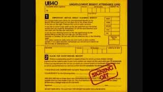 UB40 - Food For Thought ( Signing Off Album ) Track 8.