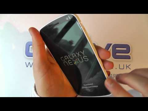 Samsung Galaxy Nexus White Unboxing