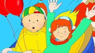 ★ NEW ★ 🎢 Caillou at the Theme Park 🎢 Funny Animated Caillou | Cartoons for kids | Caillou