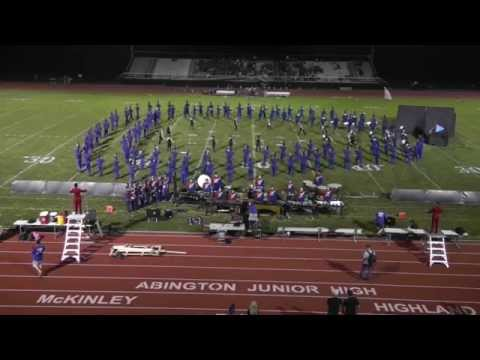 Neshaminy High School Marching Band @ Abington Football Game 09-28-2015