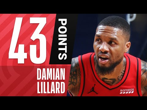 Damian Lillard ERUPTS For 43 PTS & 16 AST, Including The Game-Sealing Dime & Bucket!