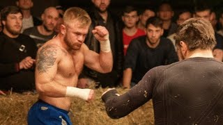 Bare Knuckle Fight/ Zelemkhan Machine-Gunner vs. Evgeniy Sailor/ Main event/ TDFC 1